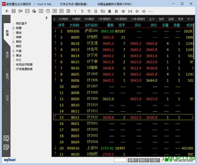 库安量化云计算软件