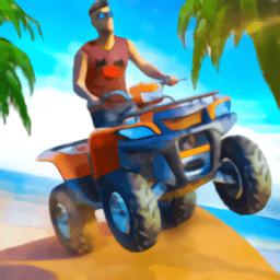 海滩四轮车冒险