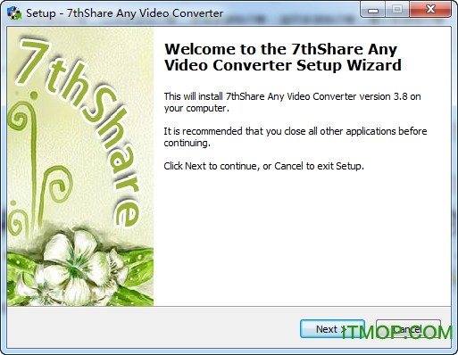 7thShare Any Video Converter v5.8.8 官方版 0