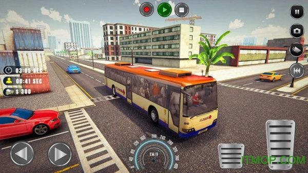 洛杉矶巴士模拟器汉化版 v1.0 安卓版 0
