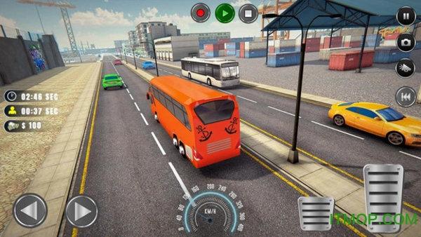 洛杉矶巴士模拟器汉化版 v1.0 安卓版 1