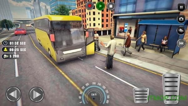 洛杉矶巴士模拟器汉化版 v1.0 安卓版 2