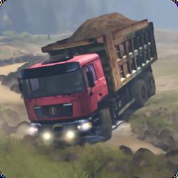 卡车司机泥路运输(Truck Driver Transport Sand)