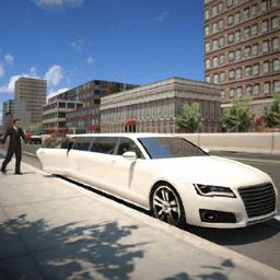 豪华汽车驾驶模拟器