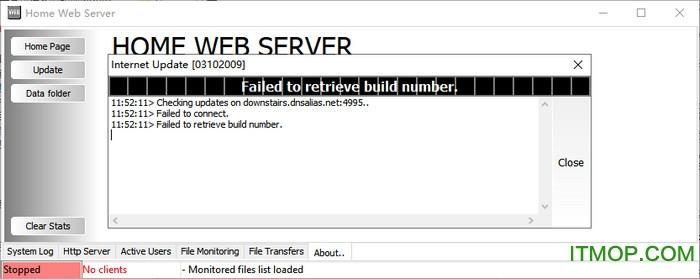 home web server
