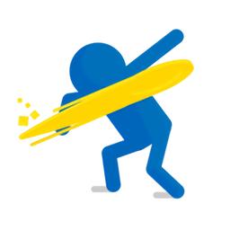 frisbee swing(飞盘摆动)