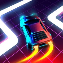 复古波赛车(retro wave car)