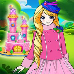 小公主爱做蛋糕