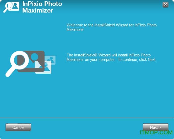 InPixio Photo Maximizer Pro(图片无损放大软件) v5.0.7075 免费版 0