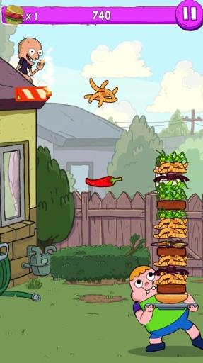 伦斯的超级汉堡游戏