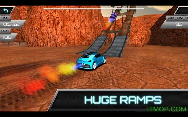 汽车飞跃比赛修改版 v1.1 安卓版 3