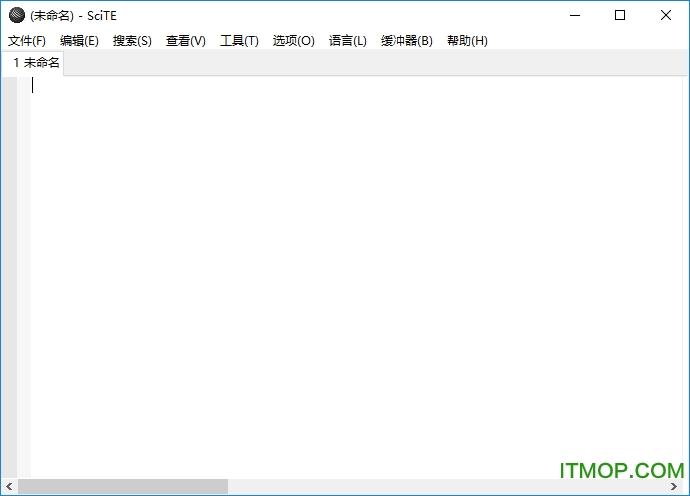 scite编辑器中文版 v4.1.6 绿色版 0