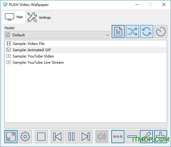 PUSH Video Wallpaper(电脑动态视频壁纸) v4.31 官方版 0