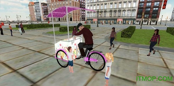 冰淇淋车送货员3d(City Ice Cream Delivery Boy) v1.0 安卓版 1