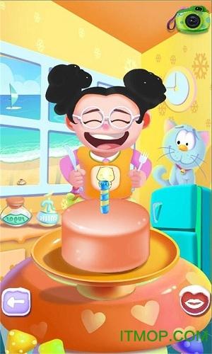 儿童做蛋糕游戏下载