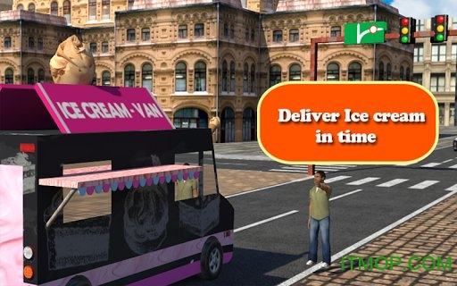 冰淇淋送货卡车(Ice Cream Delivery Van 3d) v1.0.1 安卓版 1