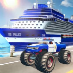 警察运输模拟器