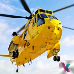 陆军直升机救援游戏