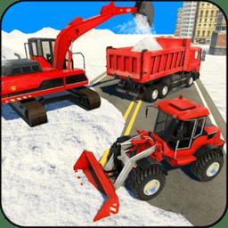 模拟雪地卡车
