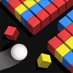 彩色球球冲撞