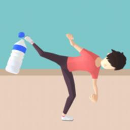 抖音瓶盖翻转挑战(Bottle Cap Game)
