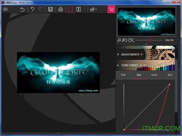 InPixio Photo Focus模糊照片变清晰软件 v4.10.7447.32475 官方版 0