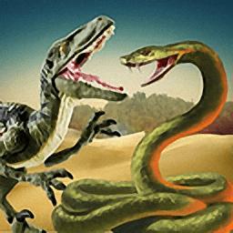 蟒蛇大战霸王龙