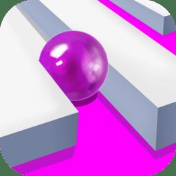 滚动彩色喷球