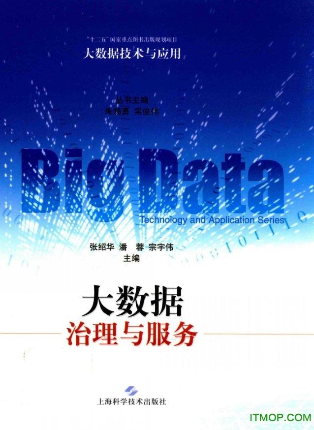 大数据治理与服务张绍华 高清完整版 0