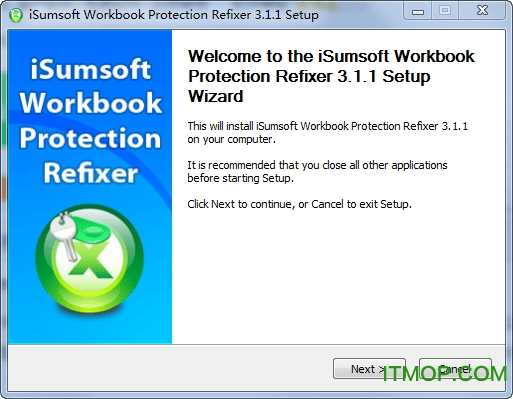 iSumsoft Workbook Protection Refixer v3.1.1 ��Ѱ� 0