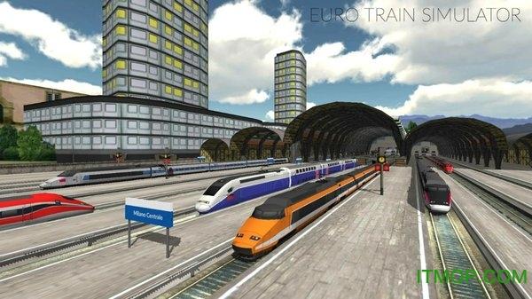 欧元火车模拟器(Euro Train Sim) v3.2.8.1 安卓版 0