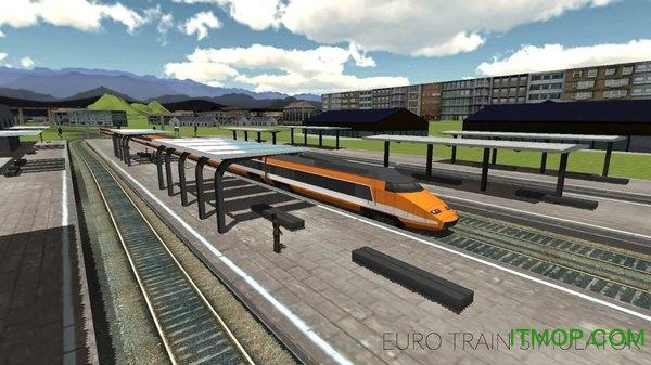 欧元火车模拟2019游戏