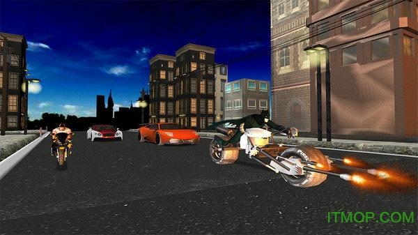 蝙蝠侠战车模拟器游戏