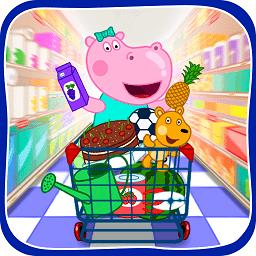 河马佩奇超市购物