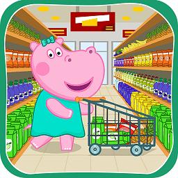 河马佩奇逛超市