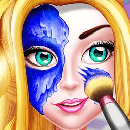 魔法公主的女孩化妆换装
