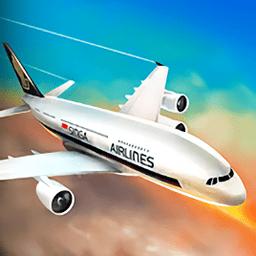 飞行模拟器2019破解版v2.4 安卓版