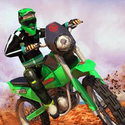摩托特技翻转