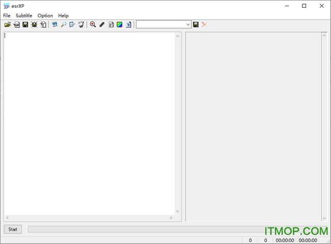 esrxp提取字幕 v10 绿色版 0