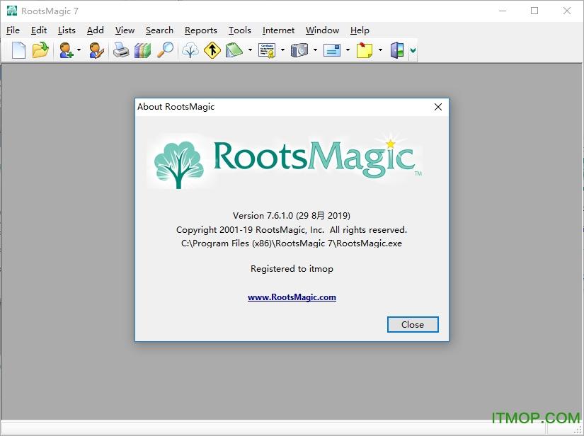 RootsMagic 7破解版下载