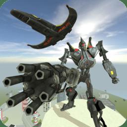未来机器人战斗机