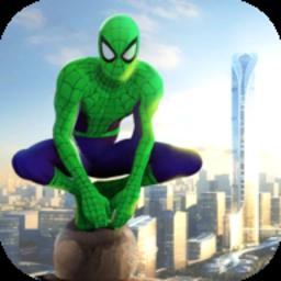 绿色绳索蜘蛛侠