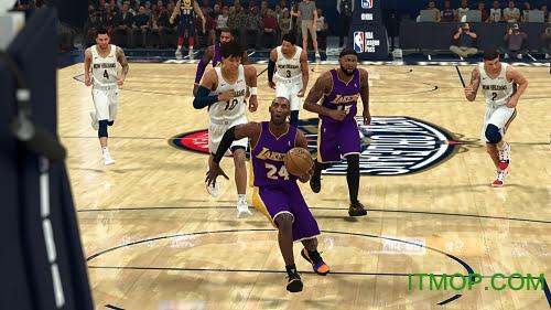 NBA2K20科比身形面补MOD下载