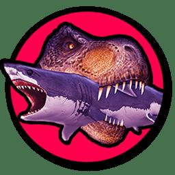 霸王龙VS食人鲨破解版