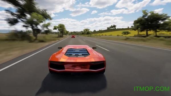 汽车竞速模拟器游戏
