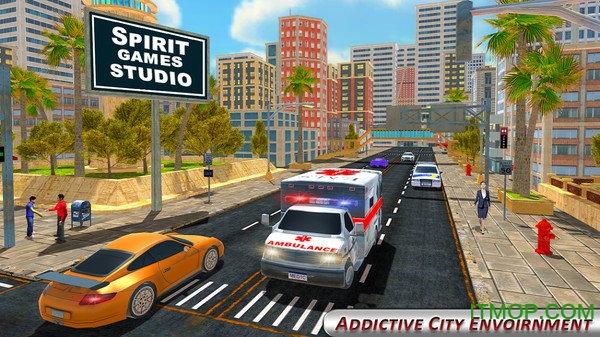 救护车救援模拟器3D v1.3 安卓版0