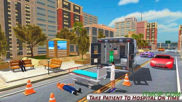 救护车救援模拟器3D v1.3 安卓版2