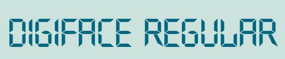 digiface Regular字�w
