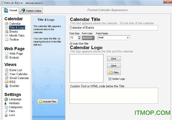 Web Calendar Pad免�M版