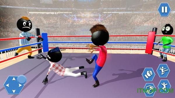 火柴人摔跤模�M手�C版 v1.2 安卓版 2